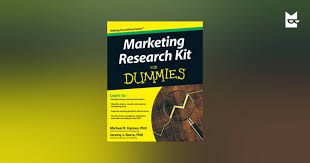 Image result for image of Marketing Research Kit for Dummies